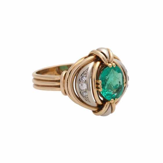 Emerald ring with Diamantbeatz - photo 2