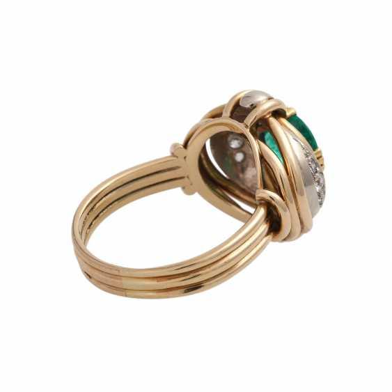 Emerald ring with Diamantbeatz - photo 3