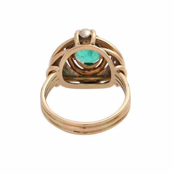 Emerald ring with Diamantbeatz - photo 4