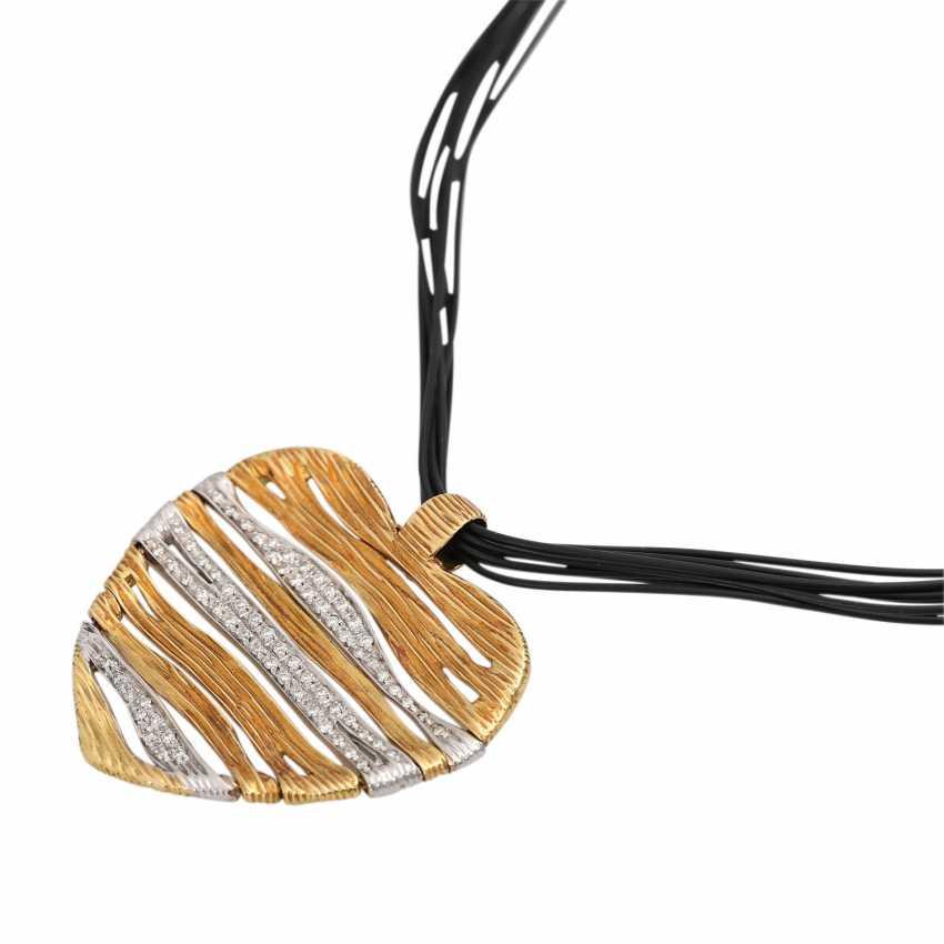 CARRERA Y CARRERA heart pendant with diamonds - photo 4