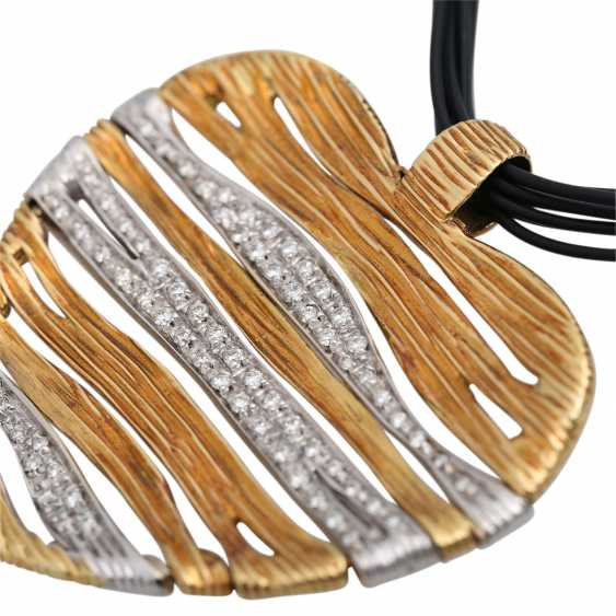 CARRERA Y CARRERA heart pendant with diamonds - photo 6