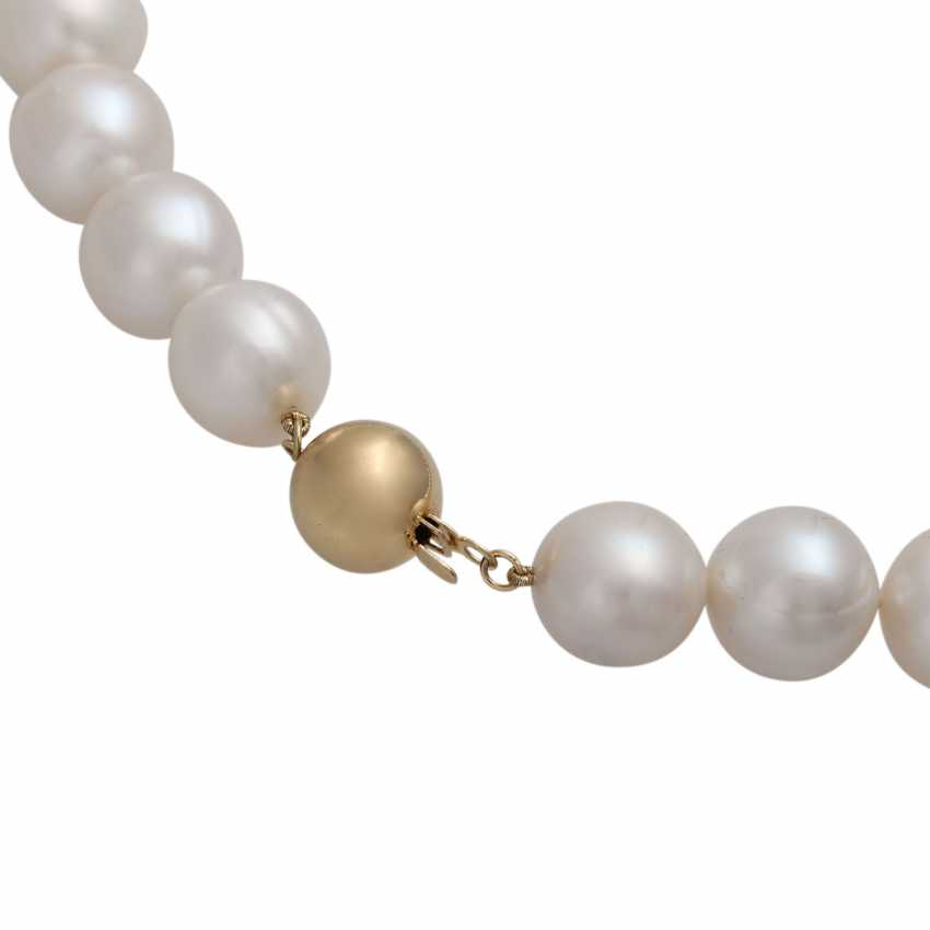 Necklace of freshwater cultured pearls - photo 5