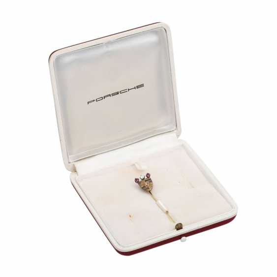 PORSCHE needle of honour in Gold - photo 5