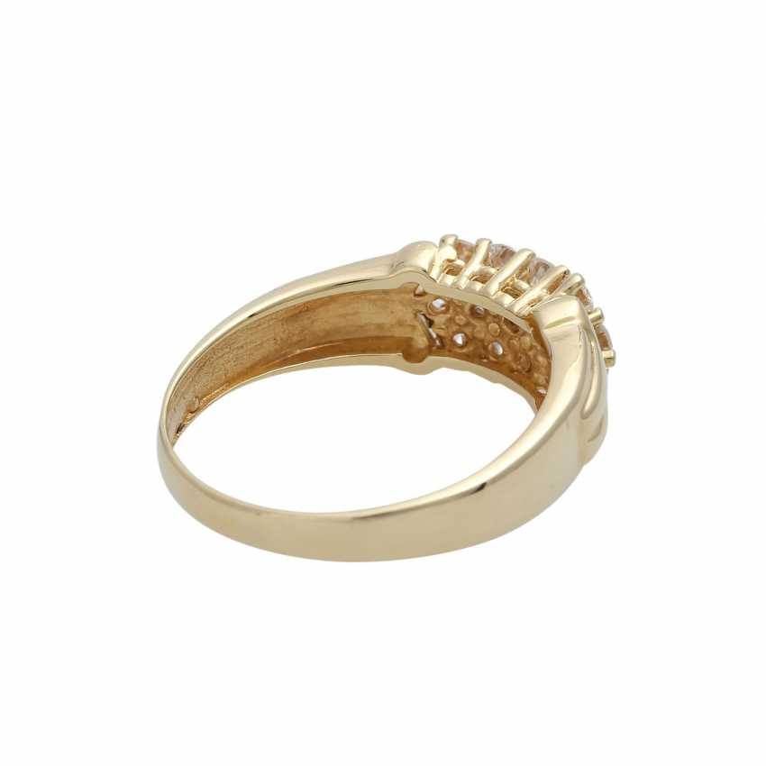 Ring with brilliant-cut diamonds, together CA. 0,75 ct - photo 3