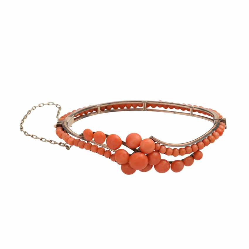 Collection of coral jewelry 4-piece, - photo 4