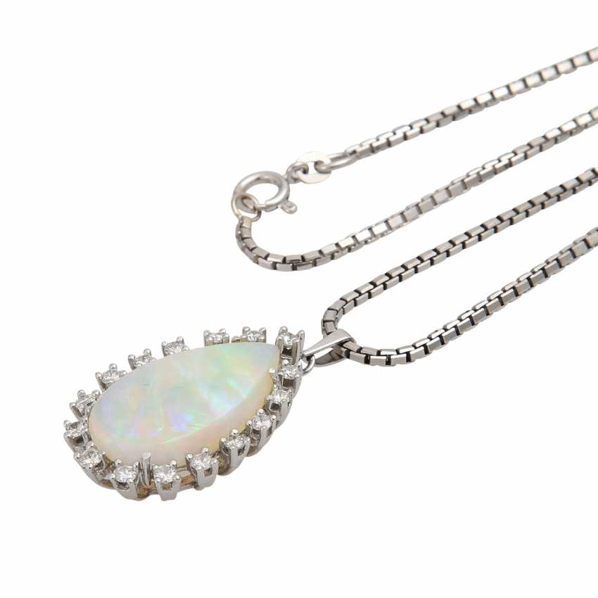 Pendant with Crystal Opal - photo 4