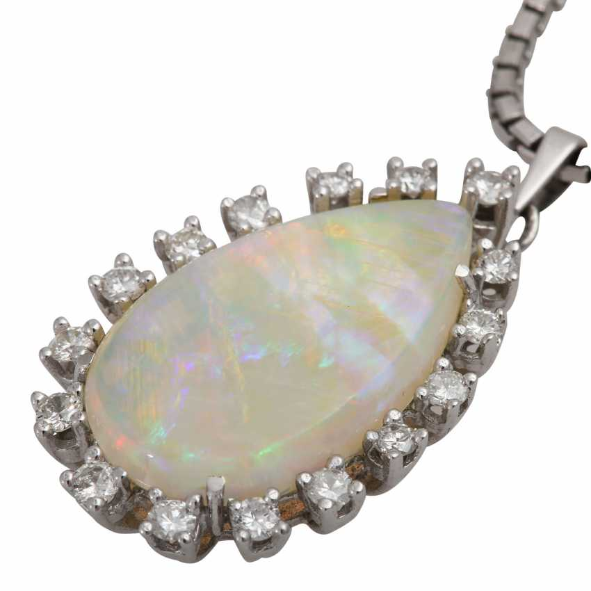 Pendant with Crystal Opal - photo 6