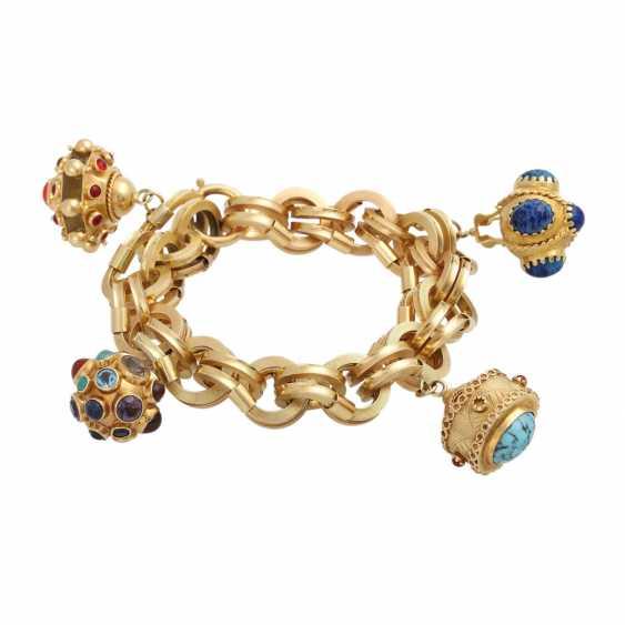 BUCHERER bracelet with 4 pendants, - photo 1
