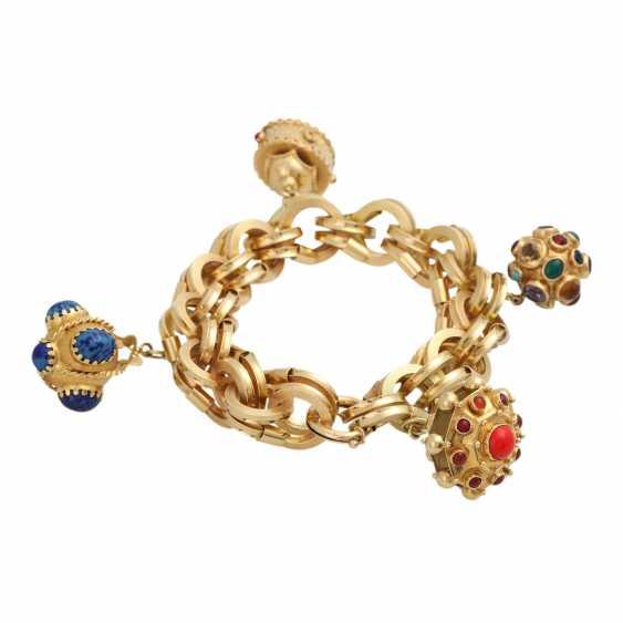 BUCHERER bracelet with 4 pendants, - photo 2