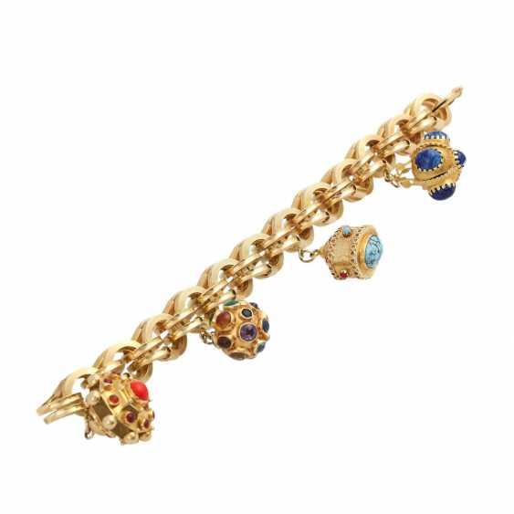 BUCHERER bracelet with 4 pendants, - photo 3