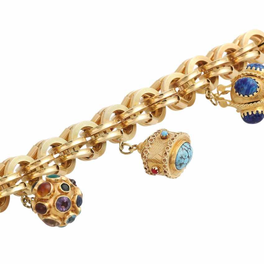 BUCHERER bracelet with 4 pendants, - photo 4