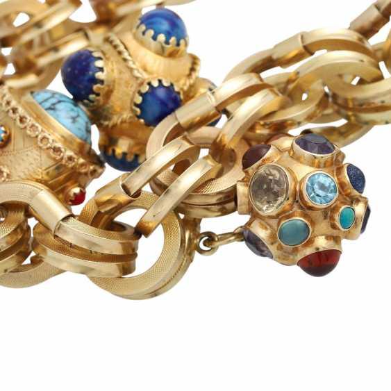 BUCHERER bracelet with 4 pendants, - photo 5