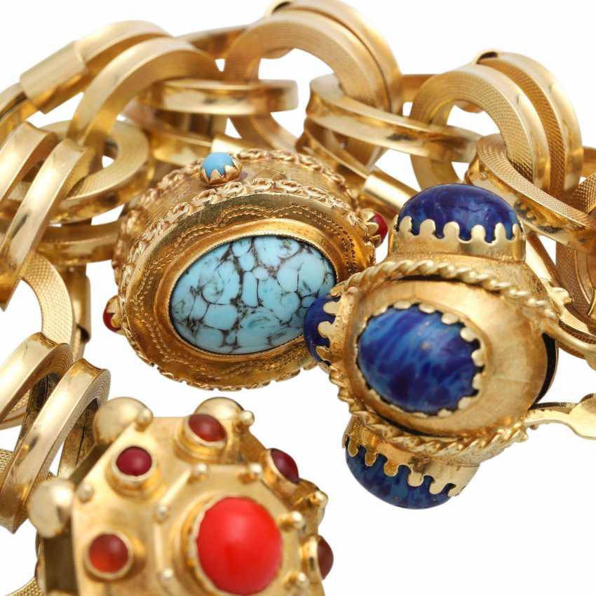 BUCHERER bracelet with 4 pendants, - photo 6