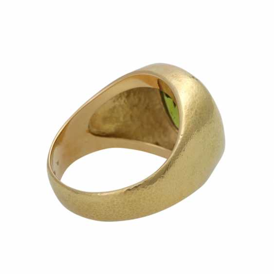 Ring with large Peridot, approx. 4,5 ct - photo 3