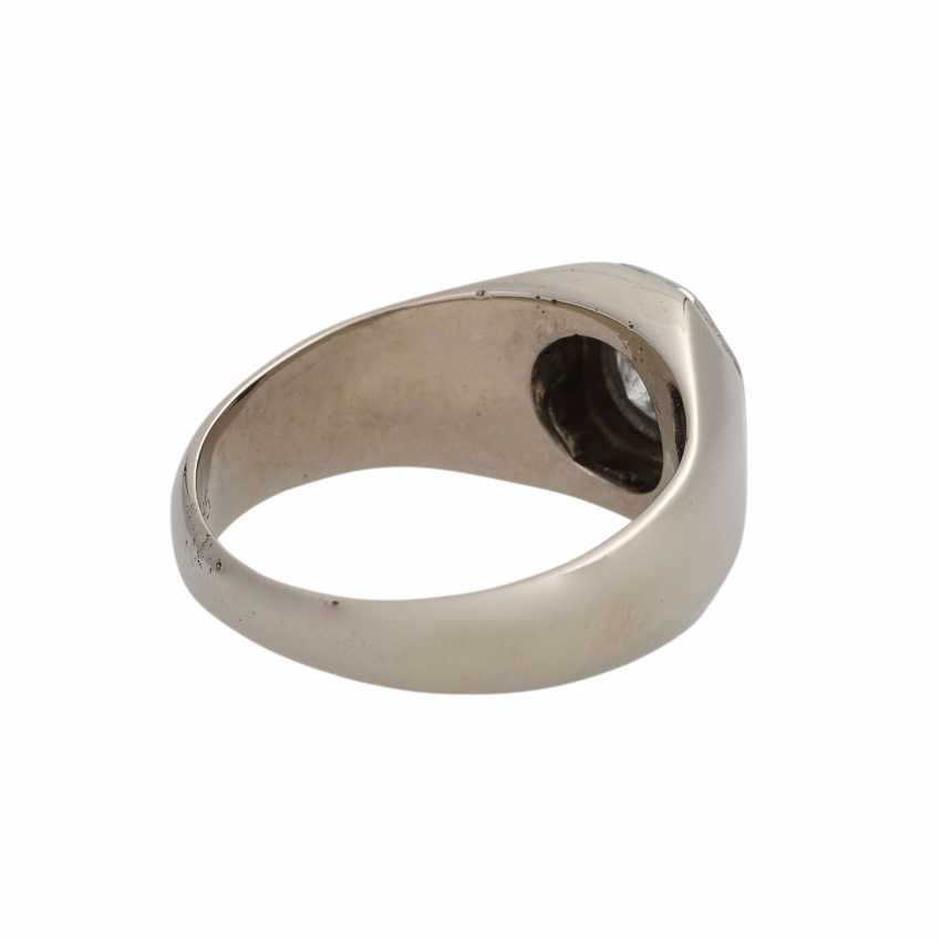 Ring with brilliant-solitaire approx 0.5 ct, - photo 3
