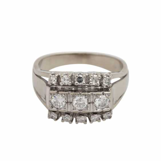 Ring with diamond of 0.60 ct, - photo 1