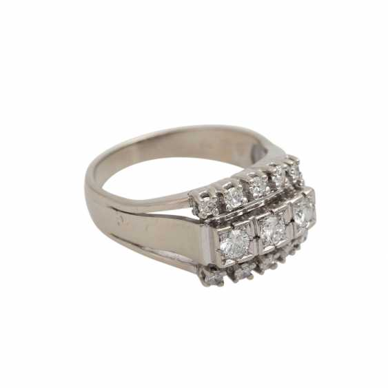 Ring with diamond of 0.60 ct, - photo 2