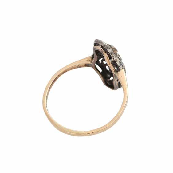 Art Deco Ring with diamonds - photo 3