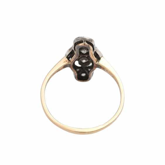 Art Deco Ring with diamonds - photo 4