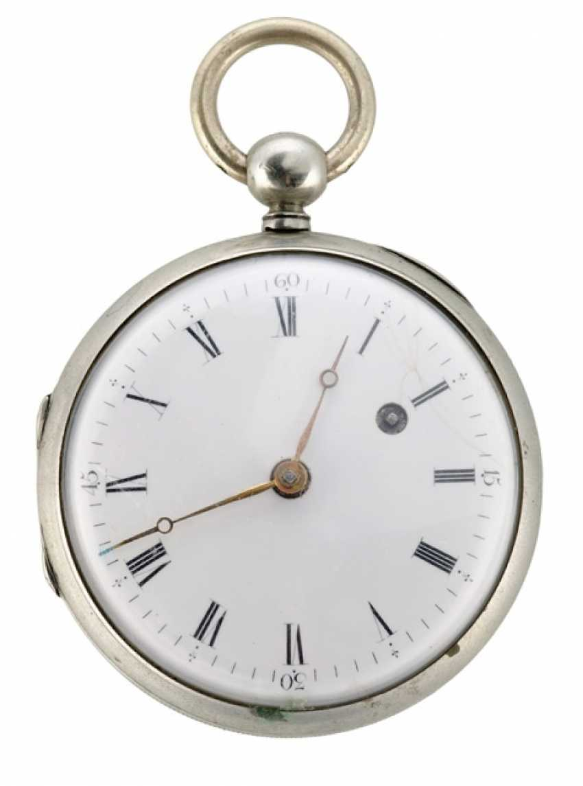 Rare Pocket Watch Ref. Hahn Hofmechanicus in Stuttgardt, around 1800 - photo 1