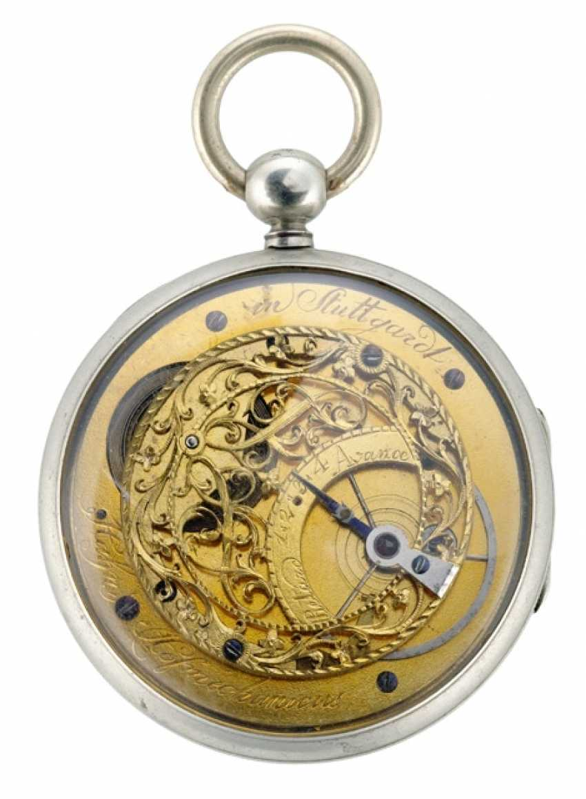 Rare Pocket Watch Ref. Hahn Hofmechanicus in Stuttgardt, around 1800 - photo 2
