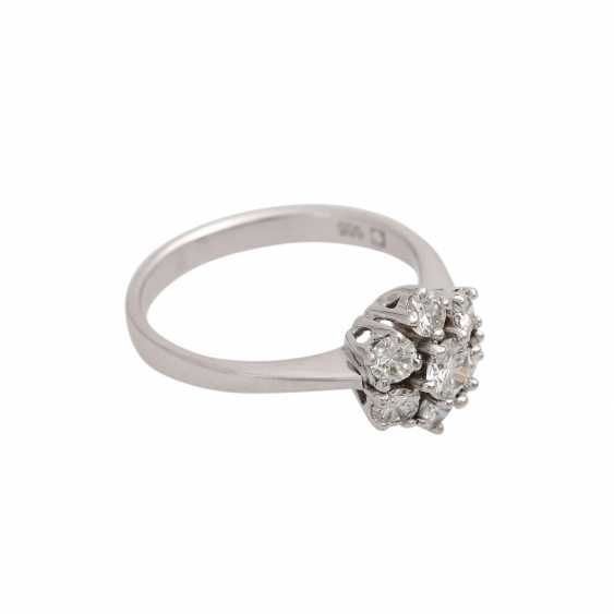 Ring-brilliant together approx 0.6 ct - photo 2