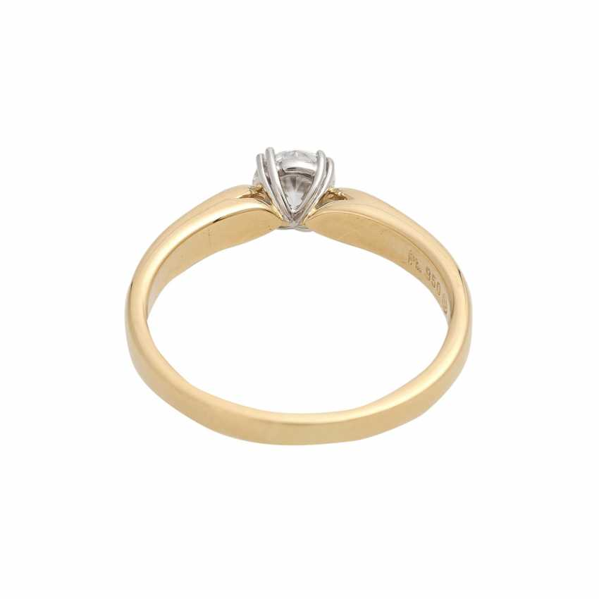 Solitaire ring with 1 diamond approx 0.6 ct - photo 4
