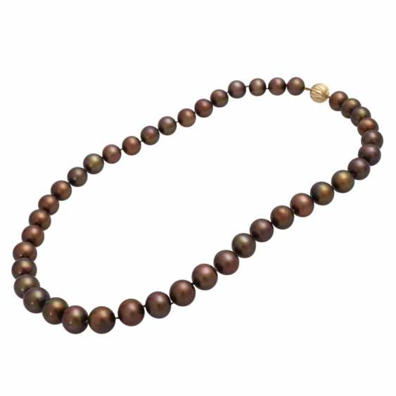 3-piece set of cultured pearls jewelry - photo 3