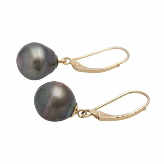 3-piece set of cultured pearls jewelry - photo 4