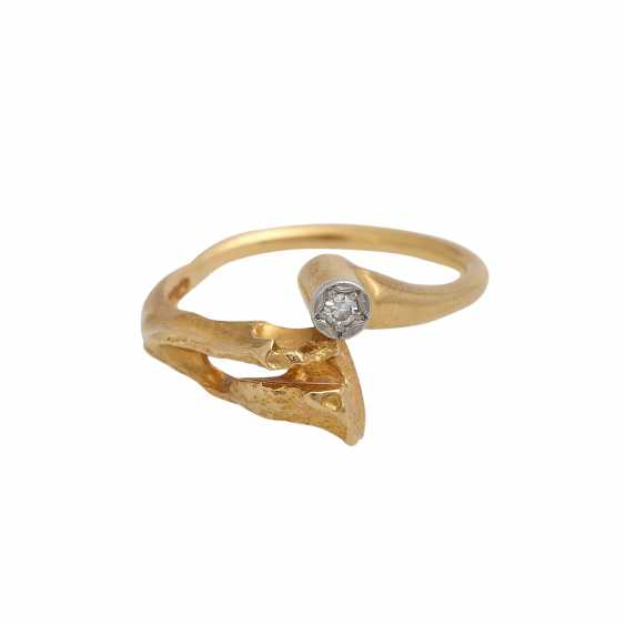 LAPPONIA-Ring with diamond - photo 1