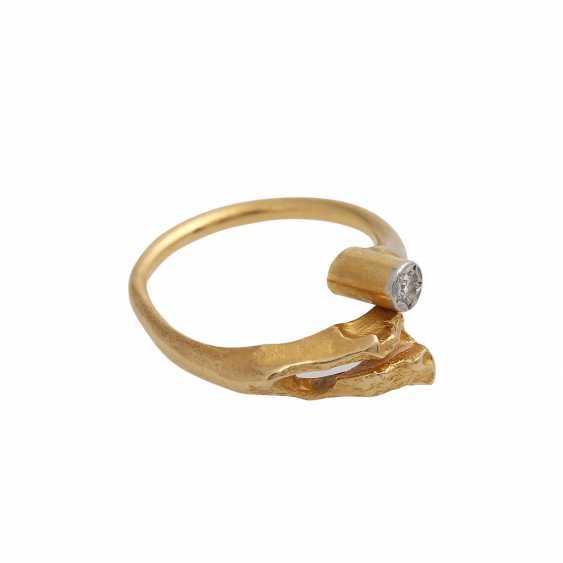 LAPPONIA-Ring with diamond - photo 2