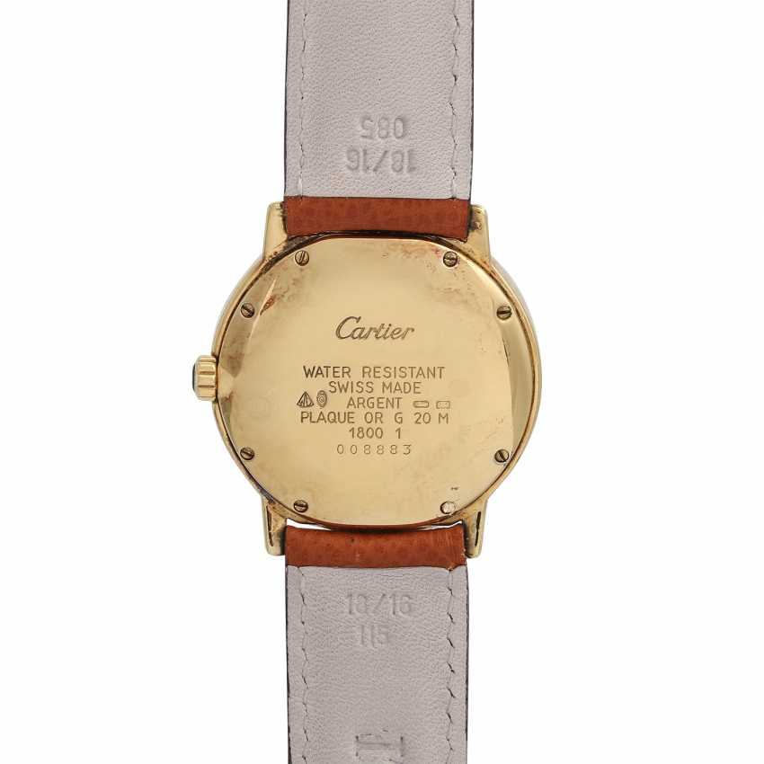 CARTIER Ronde Must women's watch, Ref. 1800-1. Housing, silver/gold plated. - photo 2