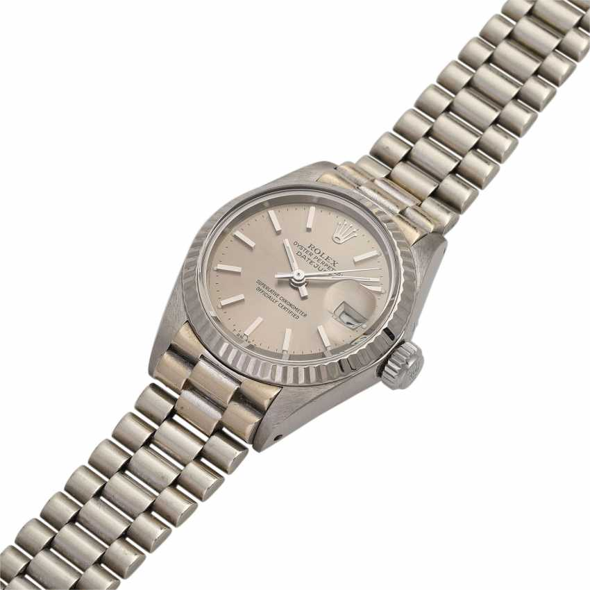 ROLEX Oyster Datejust women's watch, Ref. 6917/9, approx. 1970/80s. - photo 4