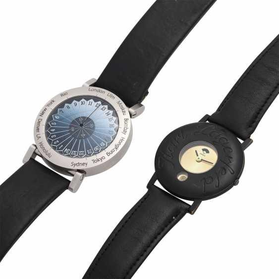 Group: A wrist watch, KARL LAGERFELD & a wrist watch EHINGER-SCHWARZ. - photo 5