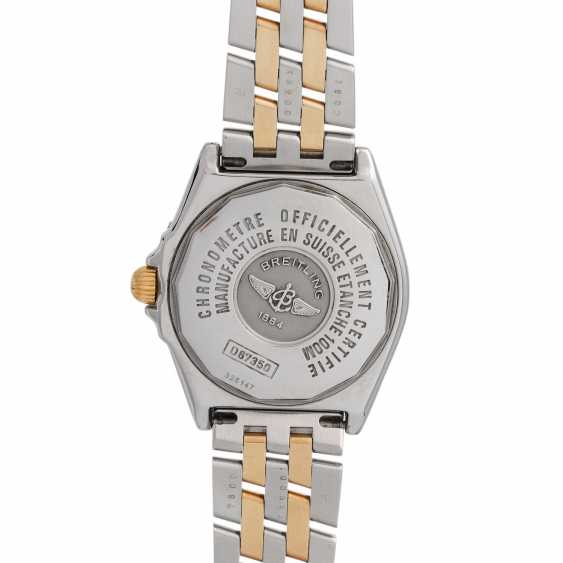 BREITLING Wings Lady women's watch, Ref. D67350. Stainless steel/Gold 18K. - photo 2