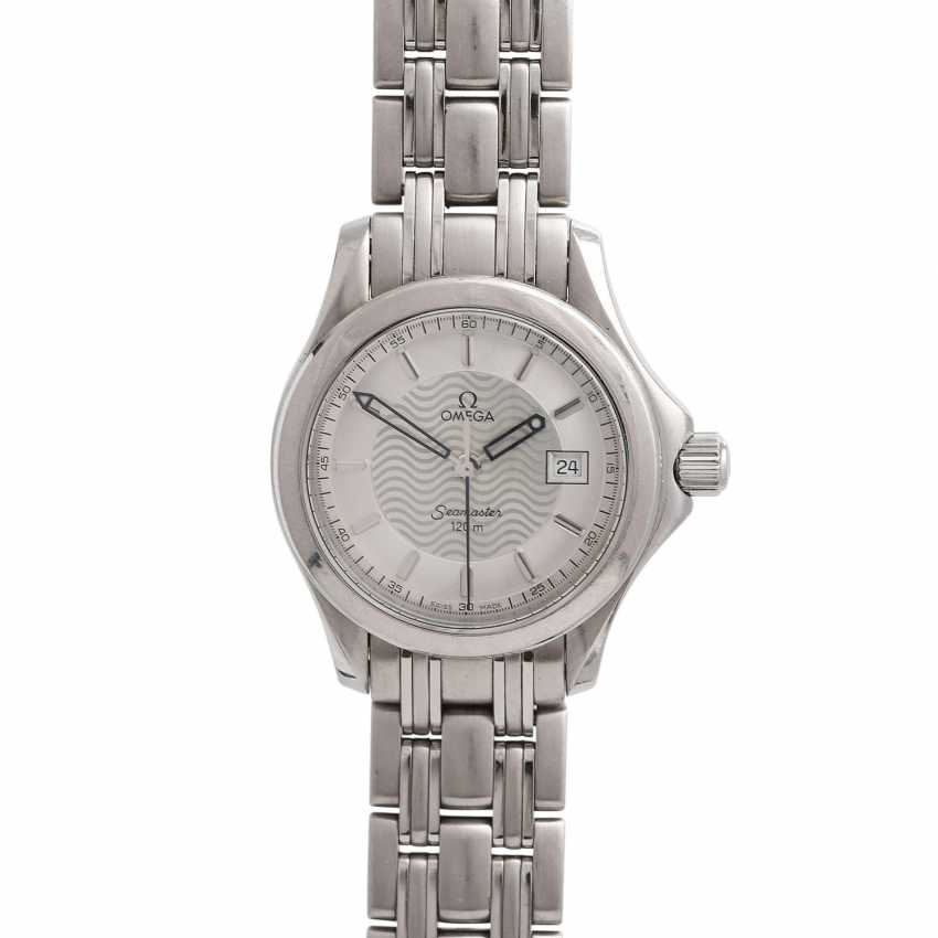 OMEGA Seamaster ladies watch. Stainless steel. - photo 1