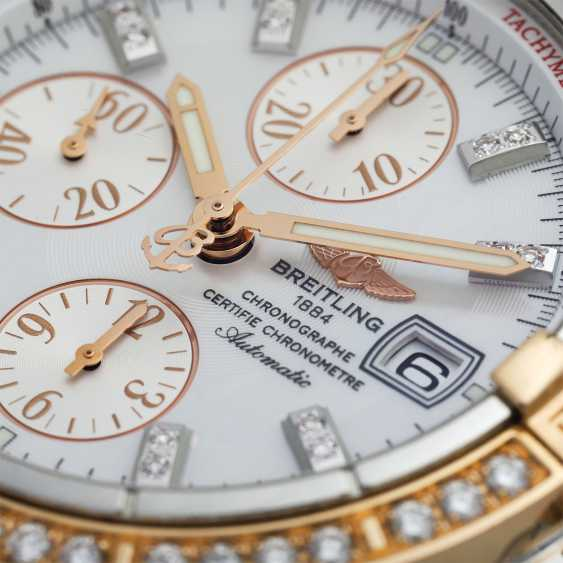 BREITLING Chronomat Evolution Chronograph Herrenuhr, Ref. C 13356. - photo 5