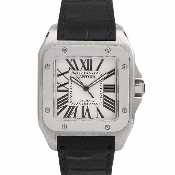 CARTIER Santos 100 XL men's watch, Ref. W 20073X8 (2656). Stainless steel. - photo 1