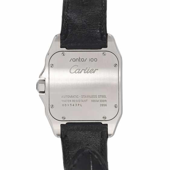 CARTIER Santos 100 XL men's watch, Ref. W 20073X8 (2656). Stainless steel. - photo 2