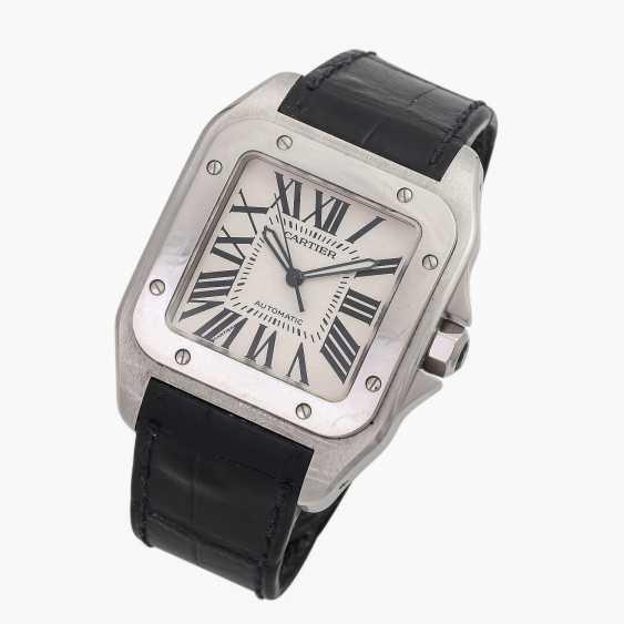 CARTIER Santos 100 XL men's watch, Ref. W 20073X8 (2656). Stainless steel. - photo 4