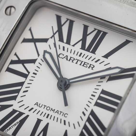 CARTIER Santos 100 XL men's watch, Ref. W 20073X8 (2656). Stainless steel. - photo 5
