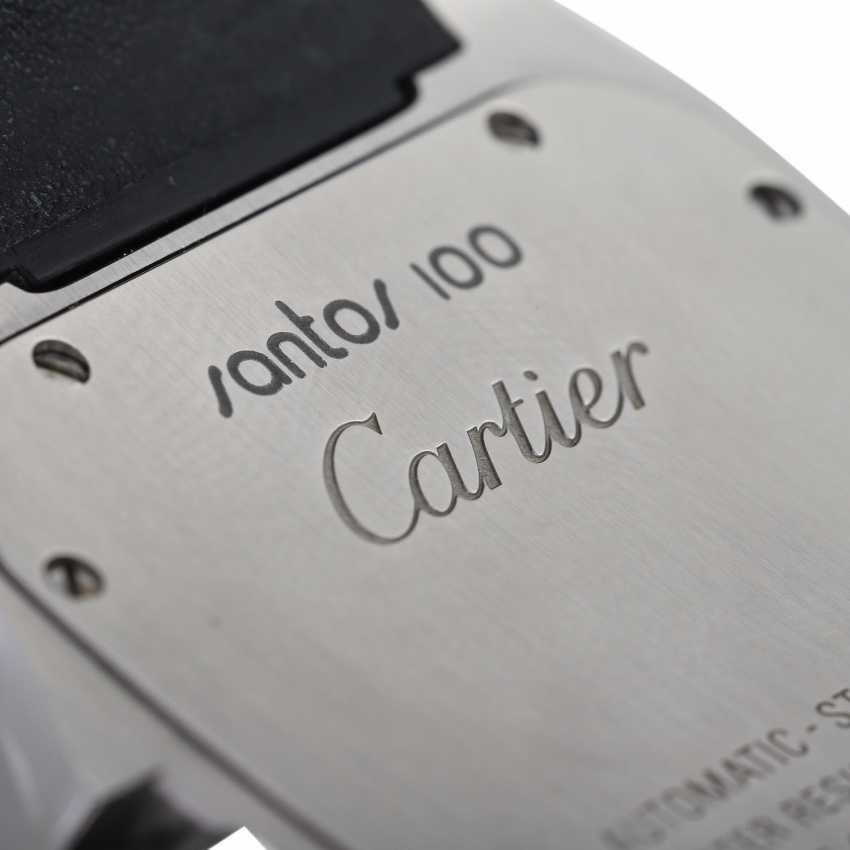 CARTIER Santos 100 XL men's watch, Ref. W 20073X8 (2656). Stainless steel. - photo 6