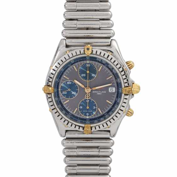 BREITLING Chronomat men's watch, Ref. B13048. Stainless steel/Gold 18K. - photo 1