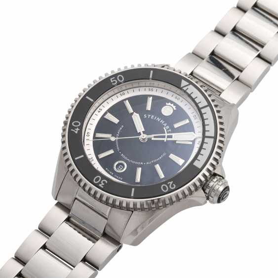 STEINHART Ocean Two Premium Black men's watch, Ref. 103-0734. - photo 4