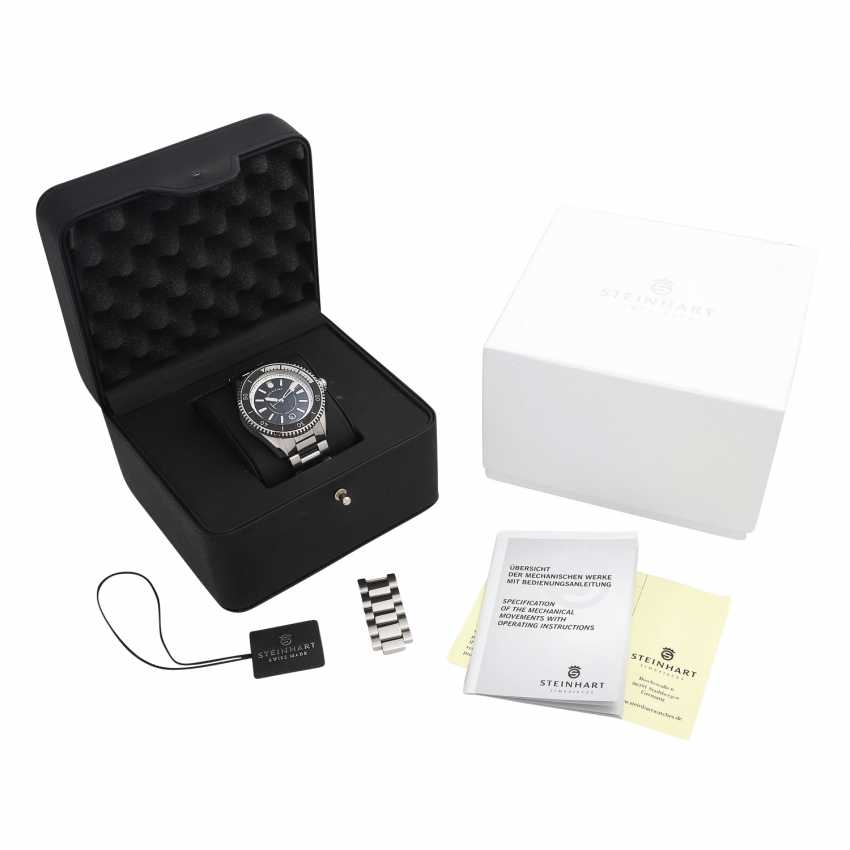 STEINHART Ocean Two Premium Black men's watch, Ref. 103-0734. - photo 5