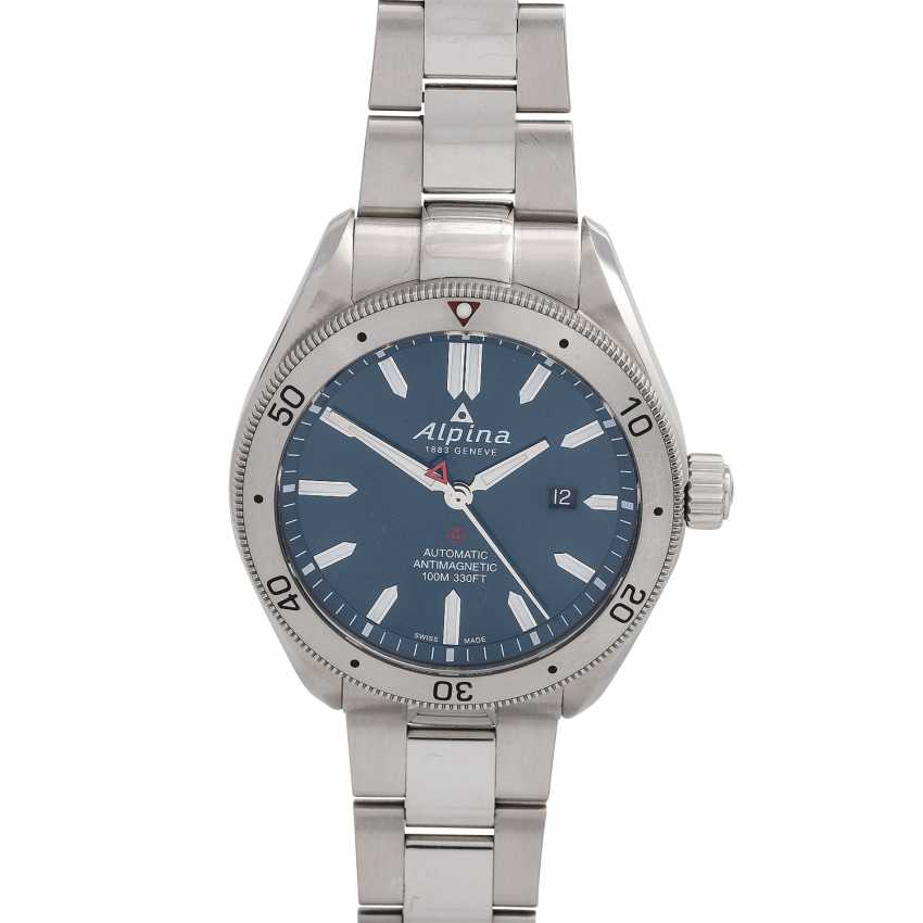 ALPINA-Alpine 4 men's watch, Ref. AL-525NS5AQ6B. Stainless steel. - photo 1