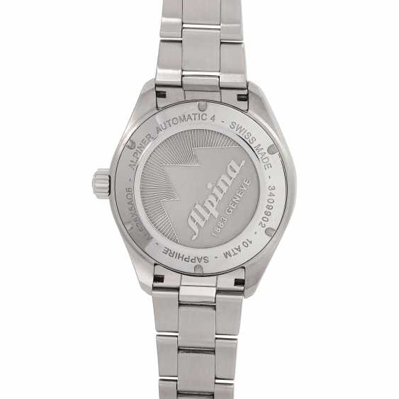 ALPINA-Alpine 4 men's watch, Ref. AL-525NS5AQ6B. Stainless steel. - photo 2
