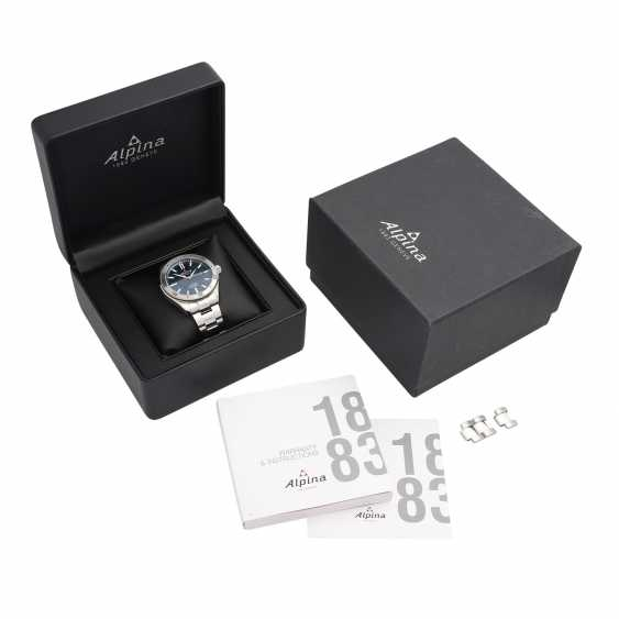ALPINA-Alpine 4 men's watch, Ref. AL-525NS5AQ6B. Stainless steel. - photo 5