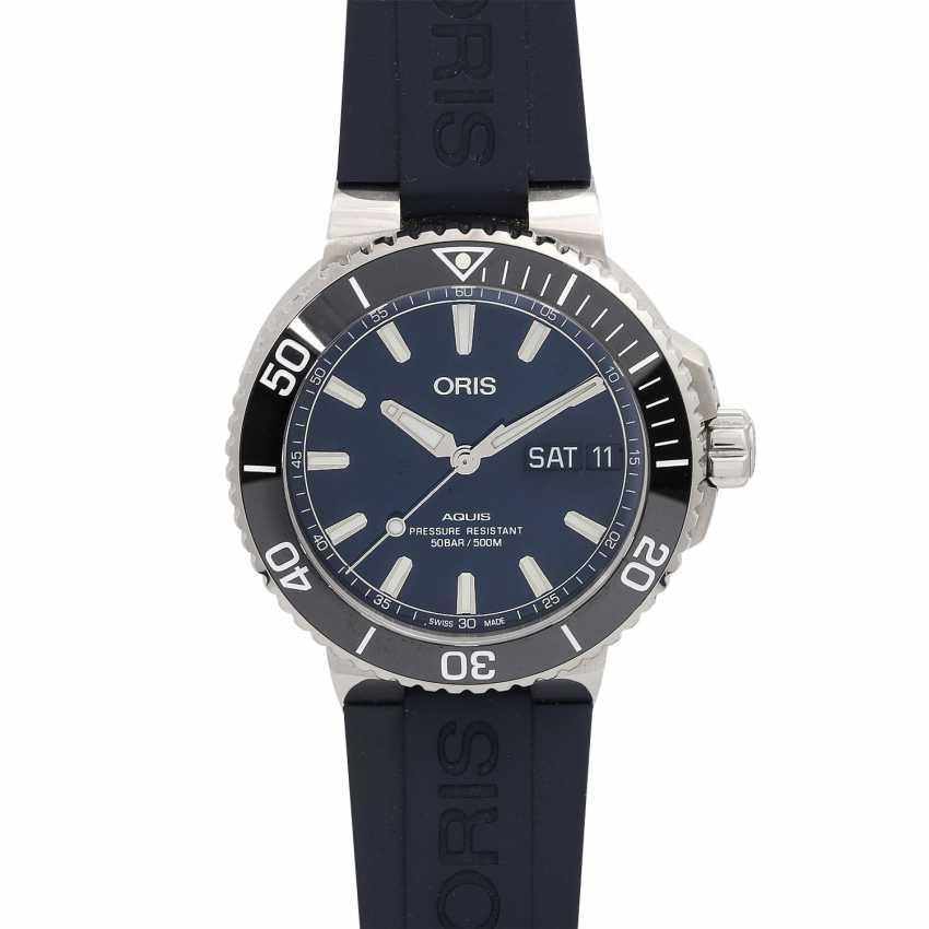 ORIS Aquis Big Day Date men's watch, Ref. 01 752 7733 4135. Stainless steel. - photo 1