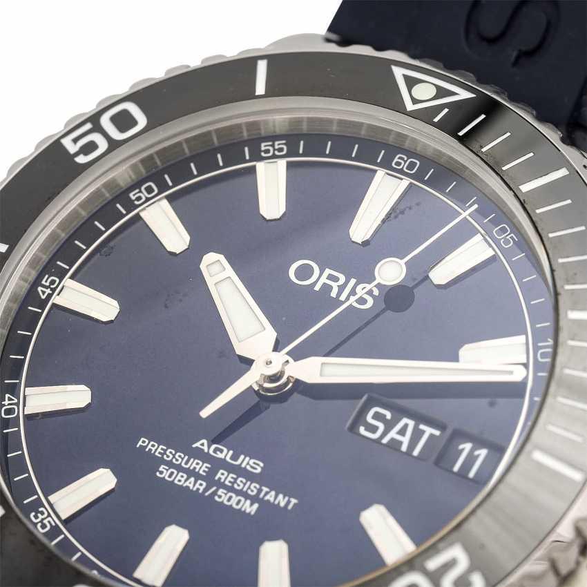ORIS Aquis Big Day Date men's watch, Ref. 01 752 7733 4135. Stainless steel. - photo 5